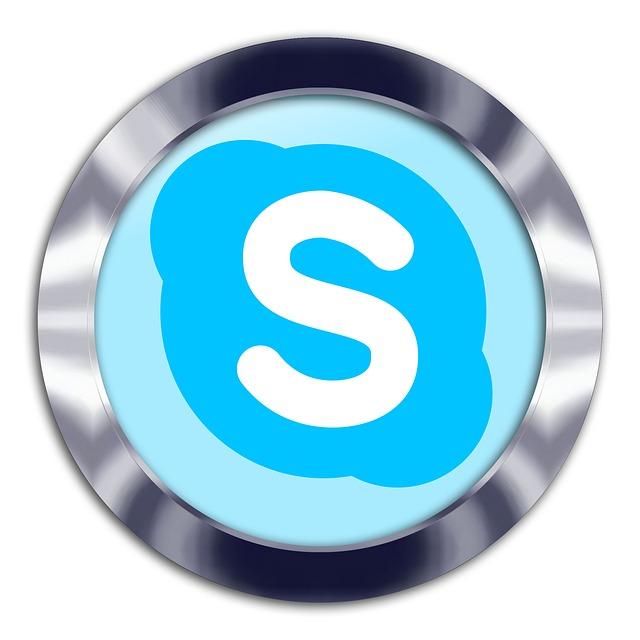 skype sociální média